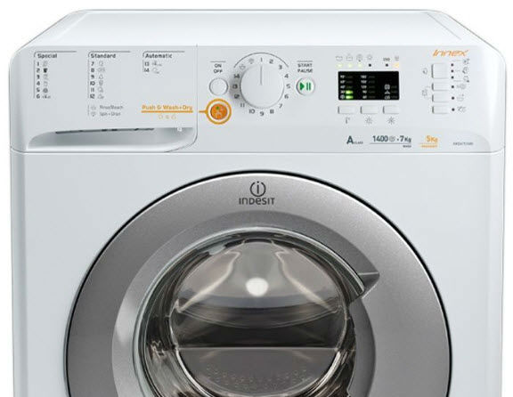 masina de spalat rufe cu uscator Indesit Innex XWDA 751480X