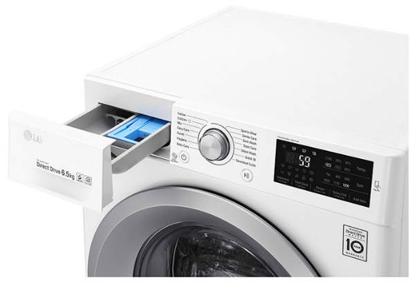 masina de spalat rufe slim LG F2J5WN4W Direct Drive